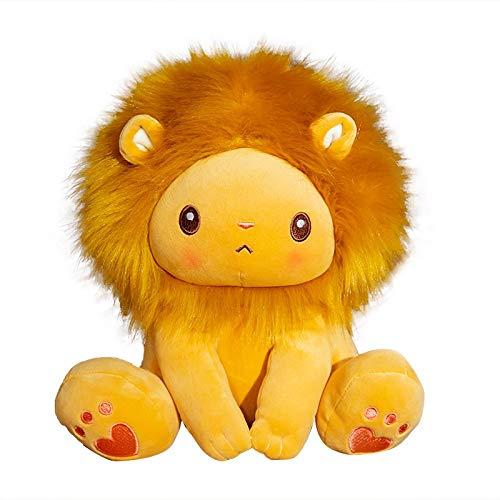 Knuffel, Schattige Zittende Leeuw Knuffel Cartoon Knuffel Pop Zacht Kussen Kinderen Verjaardag Kerstcadeau 25cm leeuw