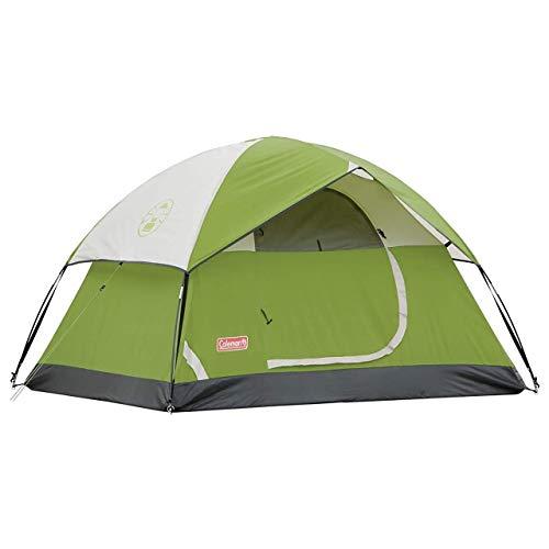 Coleman 2-Person Sundome Tent, Green (Renewed)
