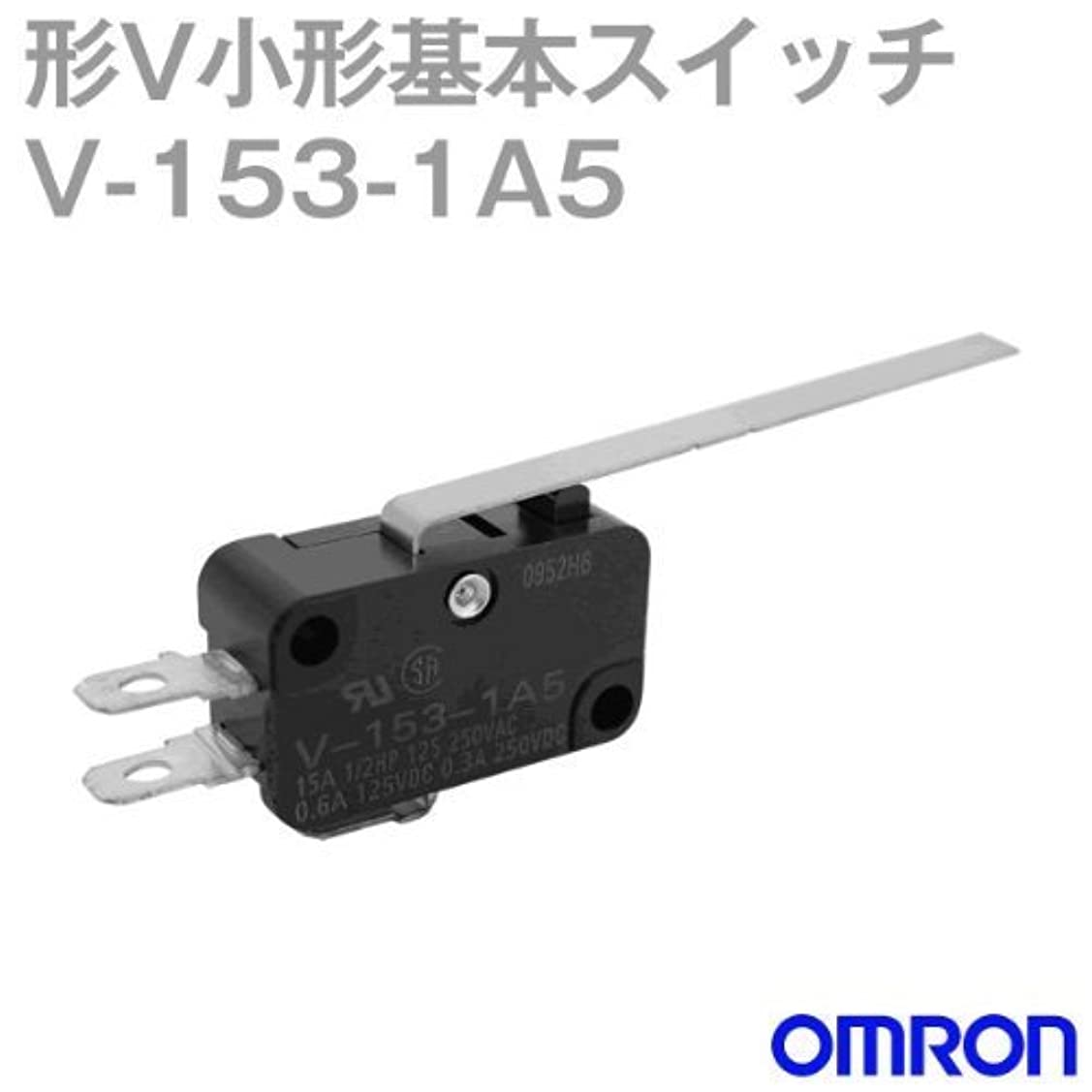 反対する歌中古オムロン(OMRON) V-153-1A5 形V小形基本スイッチ (ヒンジ?長レバー形) NN