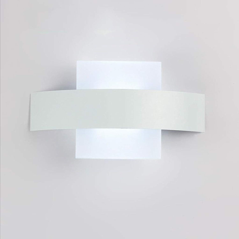 Nachttischlampe Wandlampe Schlafzimmerlampe JIAQI Kreative Mond Wandleuchte Acryl Led Wandleuchte Modernen Minimalistischen Wohnzimmer Schlafzimmer Balkon Korridor Ganglampe Einfache moderne Lampe Nor