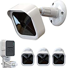 All-New Blink Outdoor Camera Mount, Weatherproof Protective Cover and 360 Degree Adjustable Mount with Blink Sync Module 2 Outlet Mount for Blink Outdoor Indoor Security Camera System (White, 3 Pack)