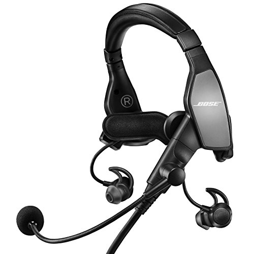 Bose ProFlight Aviation Headset, with 6-pin plug, Black