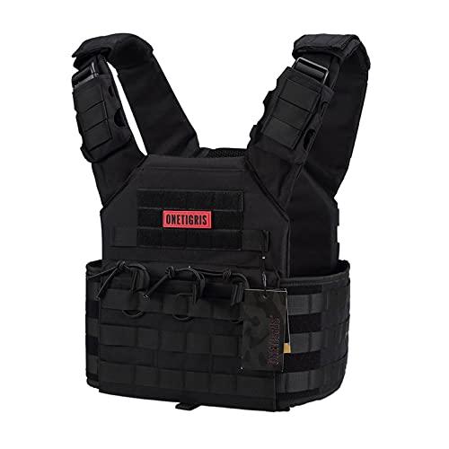 OneTigris Multicam Tactical Vest (Black)