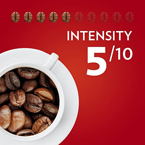 Lavazza Qualita Rossa, Arabica and Robusta Medium Roast Coffee Beans, Pack of 1 kg
