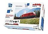 Märklin- Kit di Base Digitale Austria, Epoca 5, Treno H0, con Stazione Mobile e binari a C, 29020