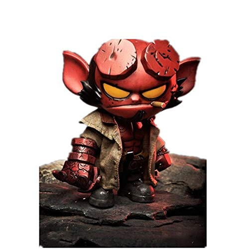 From HandMade Hellboy Figur Chibi Action Figure Actionfigur