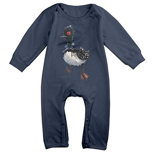 TLK Boy's & Girl's Finding Loon Beky Long Sleeve Outfits 12 Months Navy