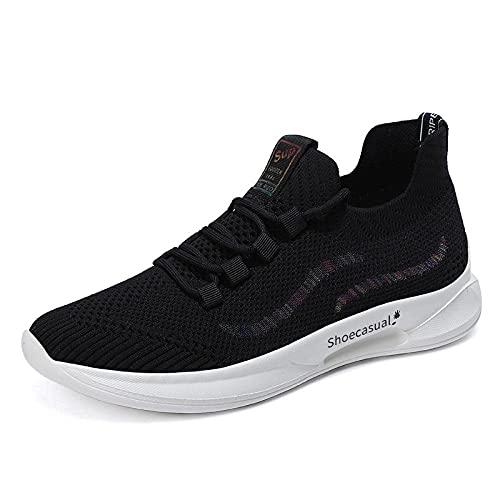 Aerlan Men's and Women's Sports Shoes,Zapatos de Mujer, Deportes Casuales, Correr, Senderismo, Zapatos-Negro_38,Calzado para Correr por Carretera