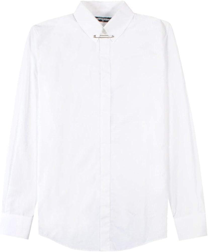 Dsquared2 Collar Camisa de Camisa Blanca White Meduim ...