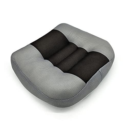 Adult Car Booster Cushion Affascinante Altezza Boost Mat, Auto Passenger Seat Booster, Cuscini Per Seggiolino Auto Traspirante Portatile Per Auto, Ufficio, Casa, Aumento Di Altezza,Grigio,38*38*10cm