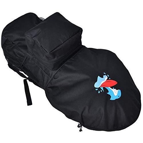 Omabeta Material de alta calidad: bolsa de tabla de remo de agua para viajes, vacaciones en la playa, surf para adultos
