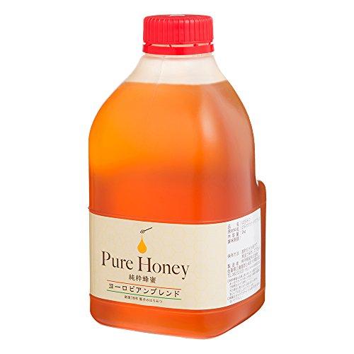 [熊手のはちみつ] ヨーロピアンブレンドはちみつ (ポリ 2kg) 100%純粋 ハチミツ 蜂蜜