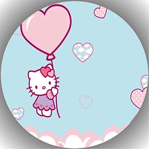 Fondant Tortenaufleger Tortenbild Geburtstag Hello Kitty T1