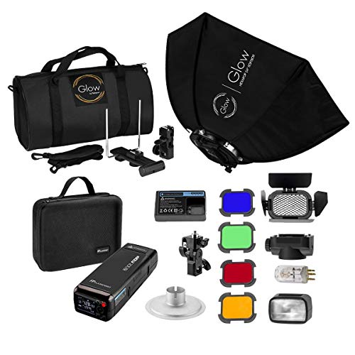 Flashpoint eVOLV 200 TTL Pocket Flash Exclusive HexaPop Kit (Godox AD200 TTL Pocket Flash)