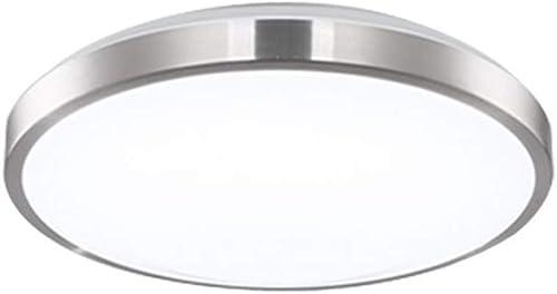 YANGSANJIN Plafonnier LED, 12 18 24W Luminaire Intérieur Eclairage Rond Parfait pour Plafond de Salle de Bain, Cuisine, Couloir, Salon, 220-240V