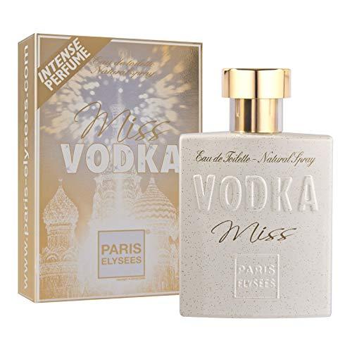 Miss Vodka Agua de perfume para mujeres Eau de toilette Paris Elysees Vaporizador 100 ml Chipre - Afrutado