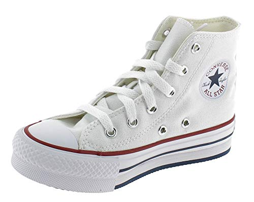 CONVERSE CTAS EVA Lift HI Zapatos Deportivo Nina Blanco 671108C