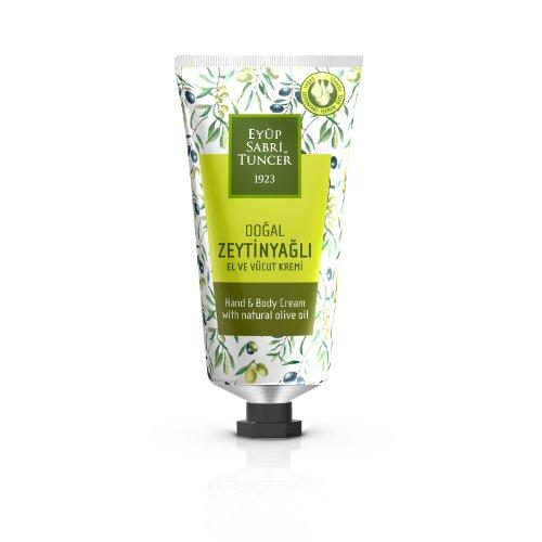 Nurso - Huile d'olive naturelle / végétalienne / crème pour les mains et le corps - Tube de 50 ml