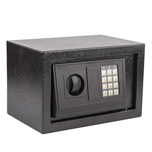Layee Electronic Digital Steel Safe Box, Security Safe Box Digital Gun Jewelry Home Hotel Lock Cash Safe Box