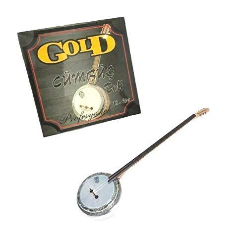 Gold Banjo Saiten/Cümbüs Tel