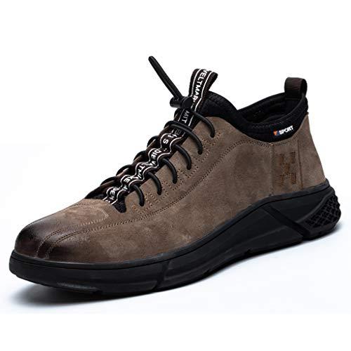 Zapatos de seguridad El nuevo !Zapatos de seguridad for hombres Mujeres de punta de acero for respiradores ligeros respiradores antideslizantes. Zapatos protectores industriales S1P botas de trabajo
