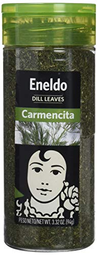 Carmencita Eneldo en Hojas Especias - 6 Paquetes de 1 x 94 gr - Total: 564 gr