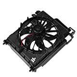 CH3113103 OE Style AC Condenser Cooling Fan Assembly Replacement for Dodge Ram 1500 2500 3500 3.7L 4.7L 5.7L 8.3L 02-08