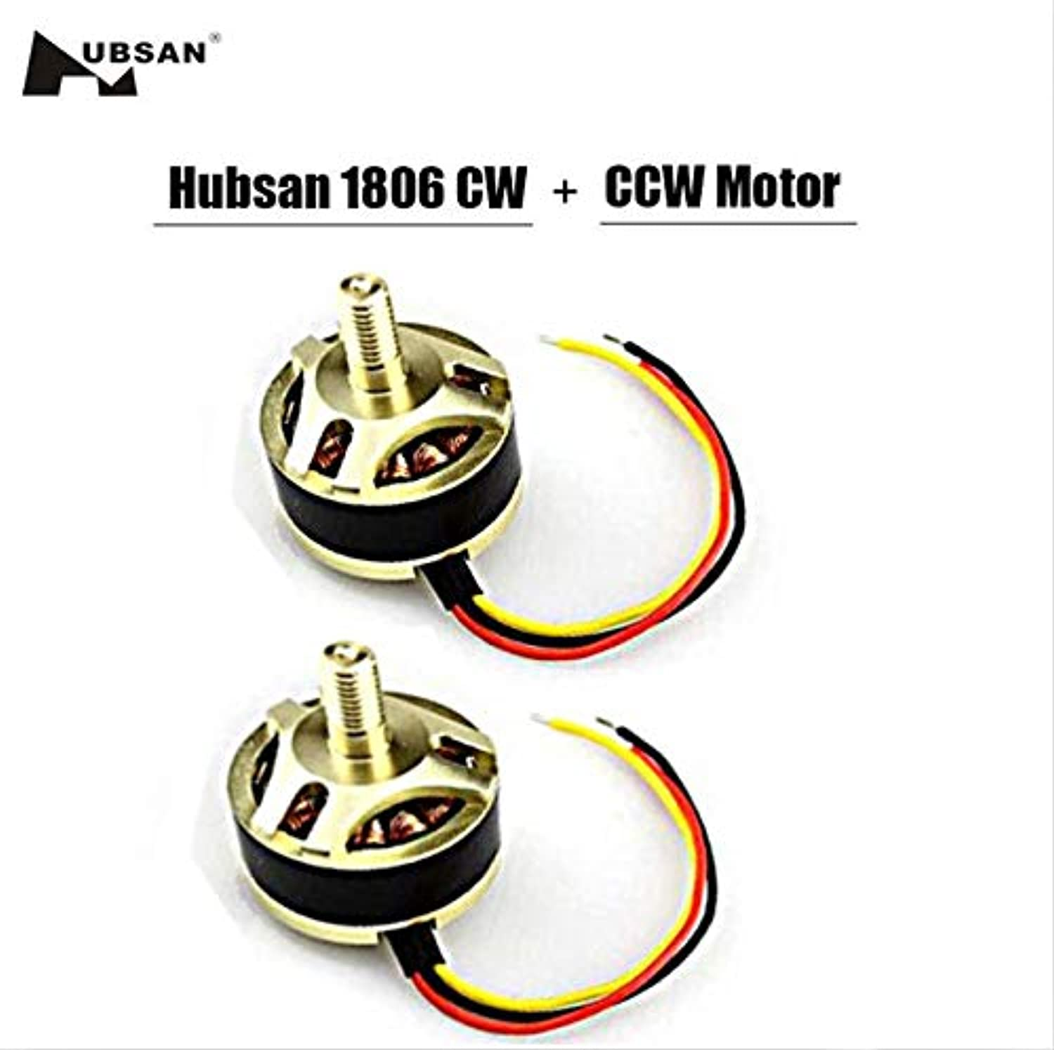 Laliva Original 1806 1650kv CCW + cw brushless Motor h501s07   h50108 for x4 h501s h501c rc Quadcopter rc Drone Parts  (color  2)
