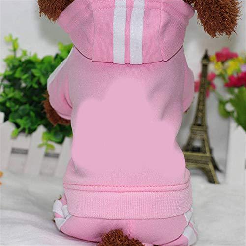 bdxka kleding voor huisdieren, voor honden, katten, puppy's, hoodie, mantel, sweatshirt, warme trui, S, C