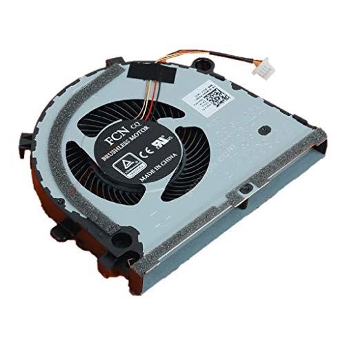 H HILABEE Ventilador de Refrigeración de CPU Enfriador de Computadora Portátil para DELL G3-3579 Laptop