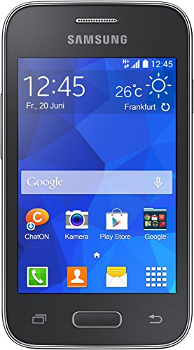 Samsung Galaxy YOUNG 2 Smartphone (8,89 cm (3,5 Zoll) Touchscreen, 3,2 Megapixel-Kamera, 1-GHz-Single-Core-Prozessor, Android 4.4) grau