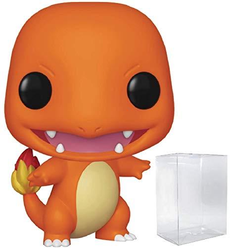 Funko Games: Pokemon - Charmander Pop! Vinyl Figure (Includes Compatible Pop Box Protector Case)