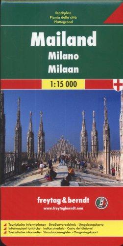Freytag Berndt Stadtpläne, Mailand 1:15.000