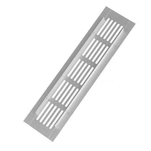 YDONGIIU Lüftungsöffnungen, 50 / 80mm Breites Perforiertes Blatt Aluminiumlegierung Lüftungsöffnung Perforiertes Blatt-Bahn-Platten-Lüftungsgitter (Color : 80mm Wide, Size : 400)