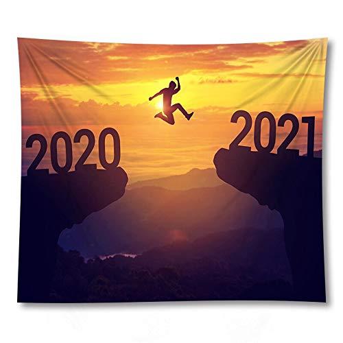 PPOU 2021 Manta de Tapiz montada en la Pared Casa de Campo Boho Decoración de la Pared del hogar Fondo de Tela Tapiz Manta de sofá A8 150x200cm