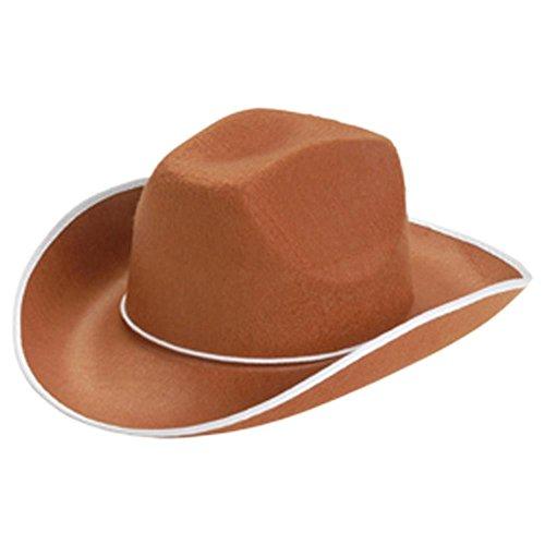 US Toy Cowboy Hat, Brown