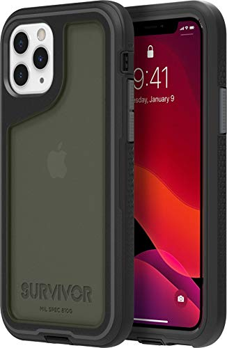 Griffin Technology Funda Survivor Extreme para iPhone 11 Pro Negra/Transparente