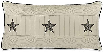 Donna Sharp Texas Pride Oblong Throw Pillow in Ivory, Pillow is The Perfect Complement