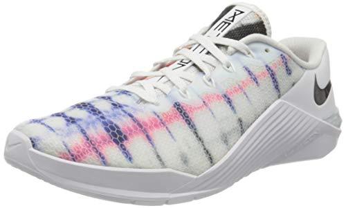 Nike Metcon 5, Zapatillas De Deporte Unisex Adulto, Blanco White Black 100, 43 EU