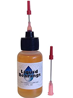 Liquid Bearings, 100%-synthetic oil for all HO scale slot cars, makes cars faster!! from Liquid Bearings