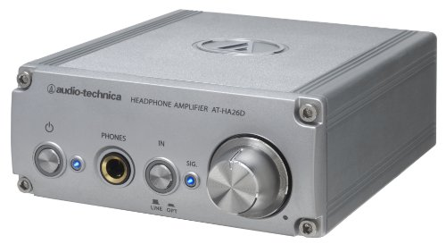 audio-technica DAconverter (for 24bit 192kHz) headphone amplifier AT-HA26D