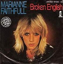 Marianne Faithfull - Broken English - Island Records - 101 249, Island Records - 101 249 - 100
