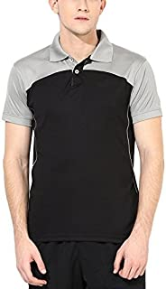 AMERICAN CREW Men's Polyester Polo T-Shirt Sports tee