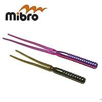 ミブロ ダブルウィップ mibro DOUBLE WHIP 5inch 7inch 08レッドスワンプ 5inch