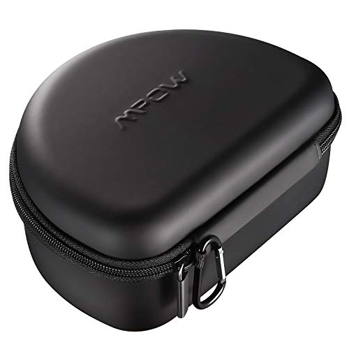 Mpow Headphone Case for Mpow 059/ Mpow H5/H12/H17/H20 and More Foldable Headphones of Other Brands, Storage Bag Travel Carrying Case for Headphones Foldable, Over-Ear/ On-Ear
