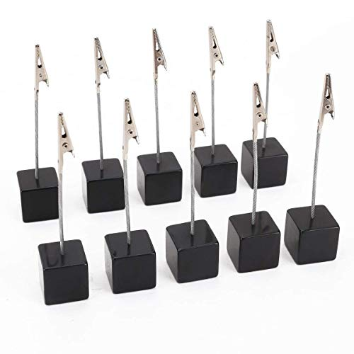 Dproptel 10pcs Memo Clip Holder Stand with Alligator Clasp for Pictures...