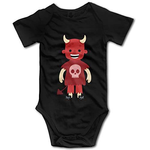 Mark Stars Halloween Monster Nouveau-né GILR Garçons Enfants Combi-Short Bébé Infant Toddler Jumpsuit(2T,Noir)