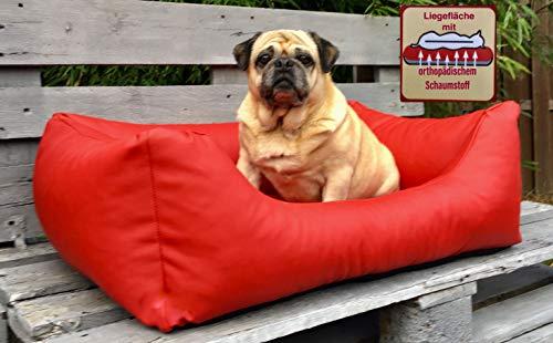 CaniMondo hondenbed Divano, Large, Rosso rood
