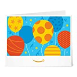 Amazon eGift Card - Print - Birthday Balloons