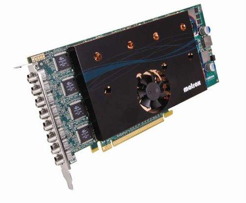 Matrox M9188 Grafikkarte (PCI-e, 2GB, DDR2 Speicher, DVI)